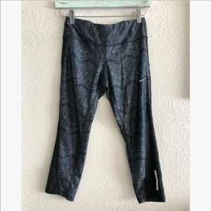 "Nike Dri Fit 7/8"" leggings sz: S"